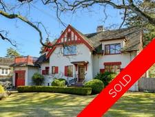 South Oak Bay House for sale: 4 bedroom Tudor Revival Home